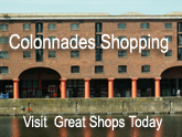 Colannades Shopping in Liverpool