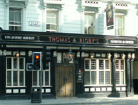 Thomas Rigby's Public House Liverpool